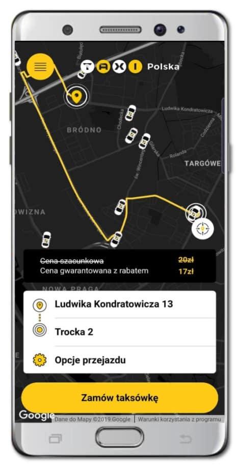 apka taxipolska telefon