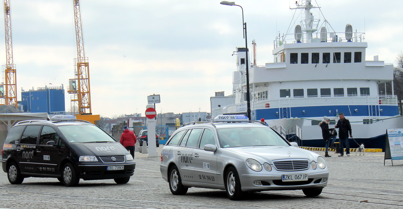 24h TAXI tel 94-196-28. Nord Taxi Kołobrzeg
