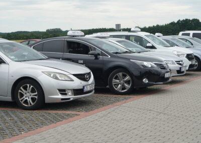 Nord taxi Koszalin taksówki flota
