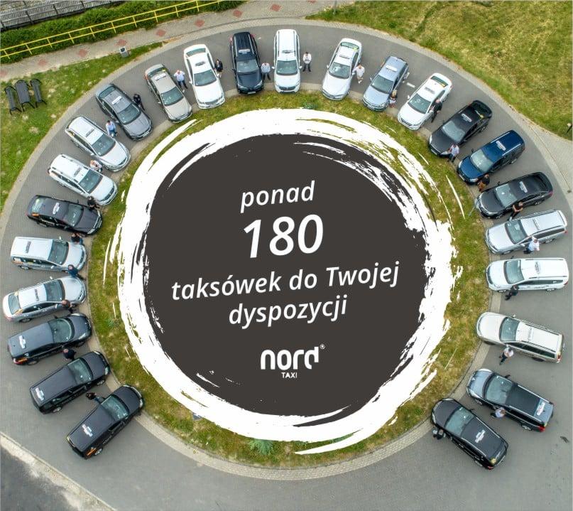 Nord taxi 180 taksówek do Twojej dyspozycji Nord Taxi Kołobrzeg Koszalin