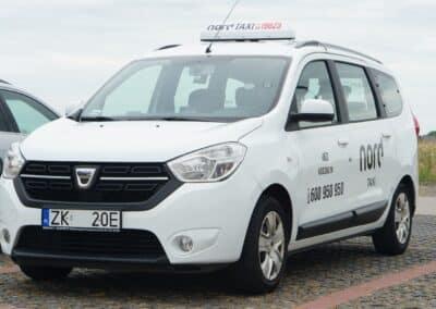 bezpieczne taksówki Nord taxi Koszalin Kołobrzeg tania