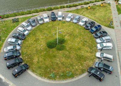 Nord Taxi prezentacja floty sieci taksówek najtańszej w Koszalinie